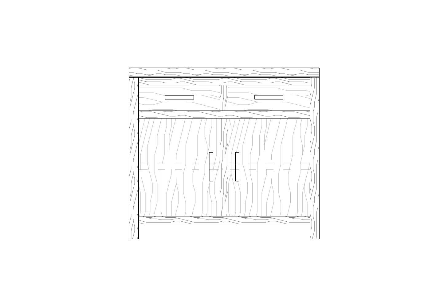 credenzabassa-B100-disegno