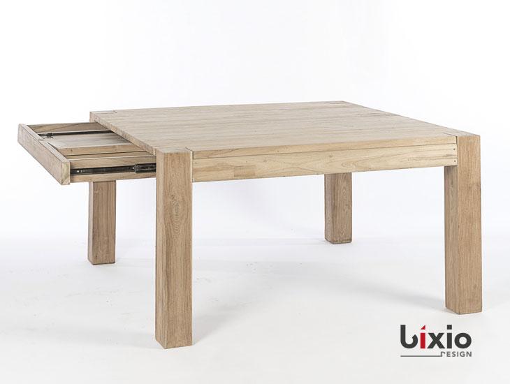 Tavolo quadrato allungabile bixio design for Tavolo quadrato mondo convenienza