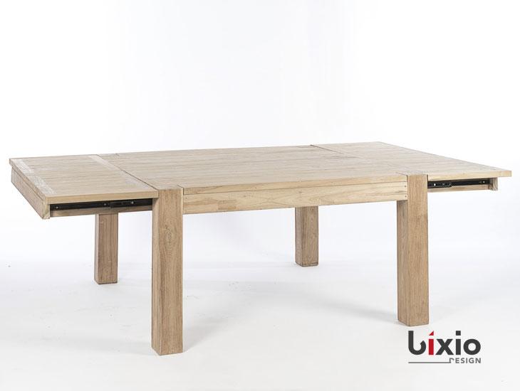 Tavoli Quadrati Di Design.Tavolo Quadrato Allungabile Bixio Design